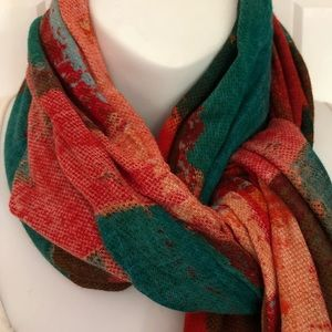 Beautiful and colorful scarf